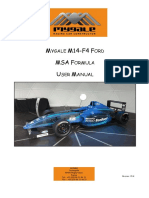 Mygale M14 F4 Ford User Manual V1.4 MSA Formula4