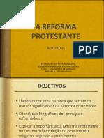 Mod 2 Rot 25 a Reforma Protestante