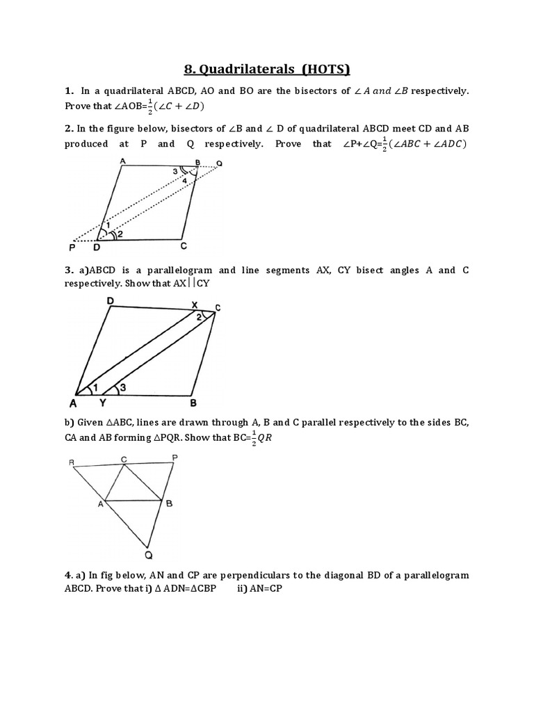 G 9 chapter 8 quadrilaterals polytopes classical geometry ccuart Image collections