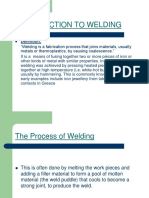 Welding Procedures and Its Applications