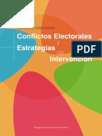 1 Modulo Conflictos Conflictos y violencia electoral Perú