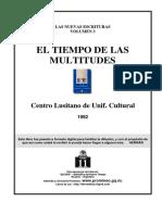 CLDUC - El Tiempo de Las Multitudes