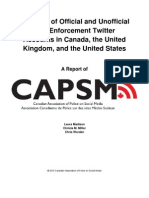 Survey of Official & Unofficial Law Enforcement Twitter Accounts in Canada, the United Kingdom, & the United States