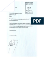 Carta Comisión Lava Jato .