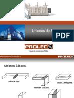Prolec - Uniones de Soldadura.ppt