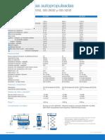 Ficha técnica Plataforma Geini Tijera 2032,2632