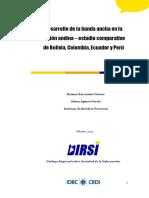 Barrantes, R. & Agüero, A. - Desarrollo de La Banda Ancha en La Región Andina. Estudio Comparativo, 2011