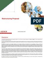 Agrokor Draft Settlement Plan