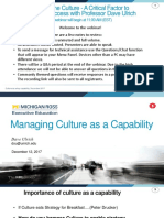 Shaping the Culture- A Critical Factor to Business Success