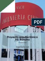 Diseño Arquitectonico de PS Rancha Primera Parte