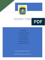 Solver y Tora