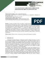 PROGRAMA PARA O CÁLCULO DA VARIAÇÃO DA DIREÇÃO DE INCIDÊNCIA DOS RAIOS SOLARES AO LONGO DO ANO