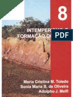 08-Intemperismo e Formação Do Solo