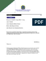 SENTENCIA - PROCESAL PENAL -Moeda Falsa. Competencia Da Justica Federal