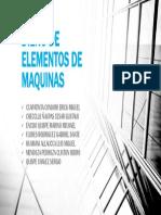 Diseño de Elementos de Maquinas Presentacion