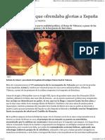 Jaime I, El Rey Que Ofrendaba Glorias a España - ABC.es
