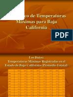 07 Pronóstico de Temperaturas Máximas Para Baja California