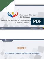 Unidad 1 Curso SETED Drogas ambito laboral Ecuador