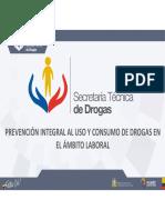 UNIDAD 5 Curso SETED Drogas ambito laboral Ecuador