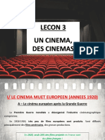 Lecon 3 - Des Cinemas H5 (Le cinéma muet Européen)