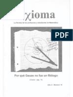Axioma 19