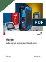 5.2 ARCO 400 Presentation ESP
