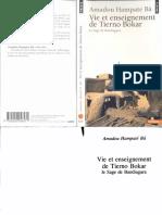 Amadou Hampaté Bâ-Vie et Enseignement de Tierno Bokar _ Le Sage de Bandiagara-Seuil (2004).pdf