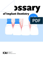 Glossary of Implant Dentistry 3 ICOI