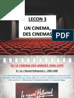 Lecon 3 - Des Cinemas H9 (Le Nouvel Hollywood)