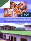 Mexico Volunteer Handbook 2018.