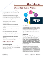 Job Hazard Analysis Riskassessment