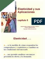 Elasticidad - Cap 05 (Mankiw)