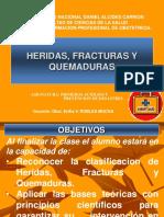 III Clase Heridas Quemaduras Fracturas
