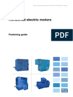 WEG Electric Motors Fastening Guide 10004539140 Technical Article English