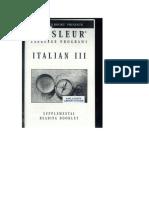 Italian III Booklet.doc