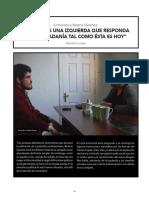 Entrevista a Beatriz Sánchez