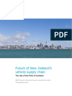 Port of Auckland Relocation NZIER Report