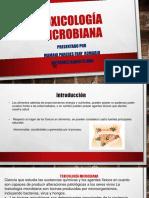 Toxicología-microbiana
