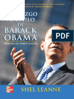 Liderazgo al estilo Barack Obama