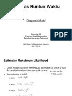 Analisis Runtun Waktu 6 - Diagnosis Model