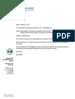 Mark Dantonio Employment Contract - 2017