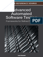 Izzat Asmaldi - Advanced Automated Software Testing Frameworks for Refined Practice - 2012