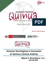 Conferencia Vi Congreso Mundial Quinua - Re- Mb 21mar17