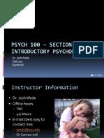 Lecture 1 - Intro