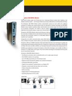 Brochure Semaphore S20 SHDSL