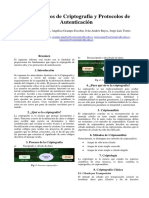 Informe Fundamentos de Criptografía - Protocolos de Autenticacion
