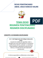 8. Regimen Disciplinario