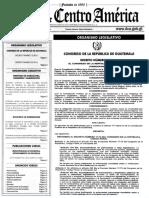 REFORMAS CODIGO PENAL GUATEMALA