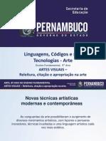 ARTES VISUAIS – Releitura, Citação e Apropriação Na Arte