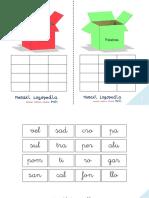 Cajas Fonológicas